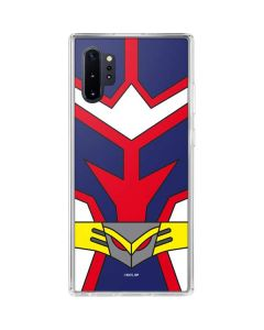 All Might Suit Galaxy Note 10 Plus Clear Case