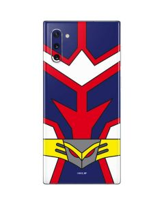 All Might Suit Galaxy Note 10 Skin