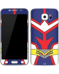 All Might Suit Galaxy S6 Skin