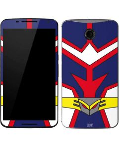 All Might Suit Google Nexus 6 Skin