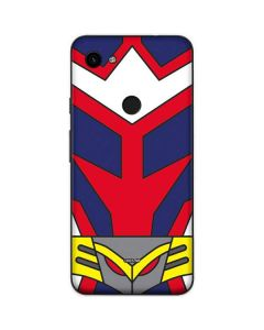 All Might Suit Google Pixel 3a Skin