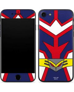 All Might Suit iPhone SE Skin