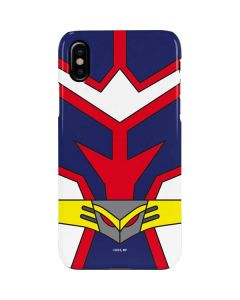 All Might Suit iPhone XS Max Lite Case