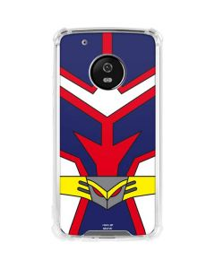 All Might Suit Moto G5 Plus Clear Case