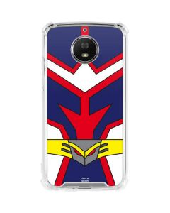 All Might Suit Moto G5S Plus Clear Case
