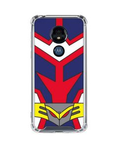 All Might Suit Moto G7 Power Clear Case