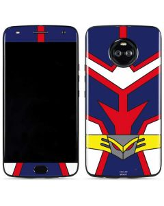 All Might Suit Moto X4 Skin
