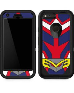 All Might Suit Otterbox Defender Pixel Skin