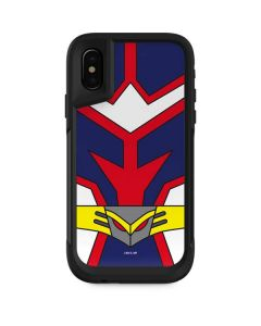All Might Suit Otterbox Pursuit iPhone Skin