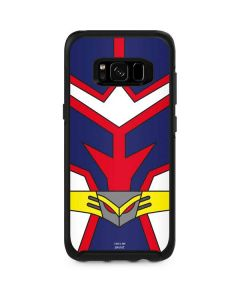 All Might Suit Otterbox Symmetry Galaxy Skin
