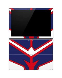 All Might Suit Surface Pro 4 Skin