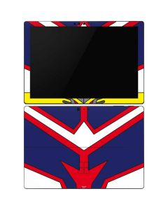 All Might Suit Surface Pro 6 Skin