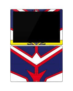 All Might Suit Surface Pro 7 Skin