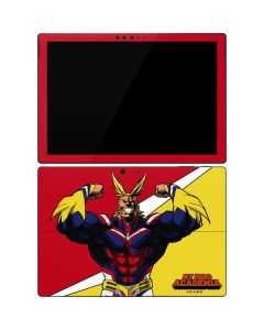All Might Surface Pro 7 Skin