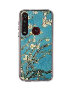 Almond Branches in Bloom Moto G8 Plus Clear Case