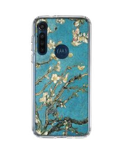 Almond Branches in Bloom Moto G8 Power Clear Case