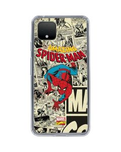 Amazing Spider-Man Comic Google Pixel 4 XL Clear Case
