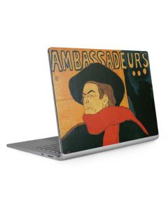 Ambassadeurs Aristide Bruant Surface Book 2 15in Skin