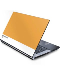 Amber Yellow Generic Laptop Skin