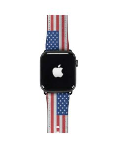 American Flag Distressed Apple Watch Band 42-44mm