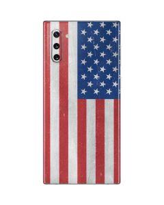 American Flag Distressed Galaxy Note 10 Skin