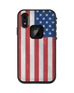 American Flag Distressed LifeProof Fre iPhone Skin