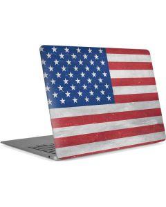 American Flag Distressed Apple MacBook Air Skin