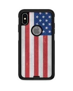 American Flag Distressed Otterbox Commuter iPhone Skin