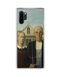 American Gothic Galaxy Note 10 Plus Clear Case