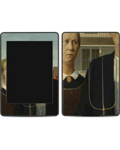 American Gothic Amazon Kindle Skin