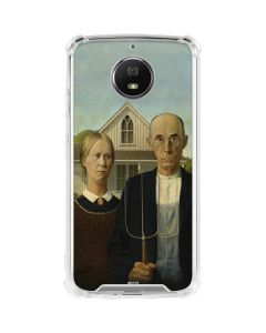 American Gothic Moto G5S Plus Clear Case