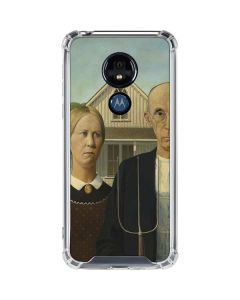 American Gothic Moto G7 Power Clear Case