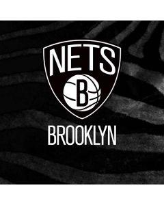 Brooklyn Nets Black Animal Print Galaxy A20 Clear Case