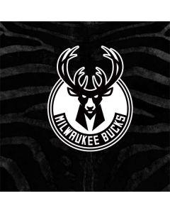 Milwaukee Bucks Animal Print Black Nintendo GameCube Controller Adapter Skin