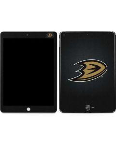 Anaheim Ducks Black Background Apple iPad Skin
