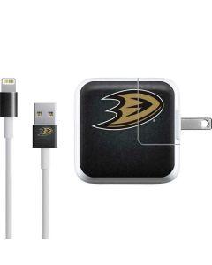 Anaheim Ducks Black Background iPad Charger (10W USB) Skin