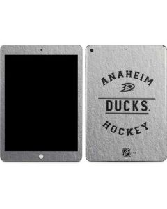 Anaheim Ducks Black Text Apple iPad Skin