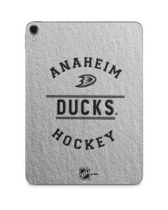 Anaheim Ducks Black Text Apple iPad Pro Skin