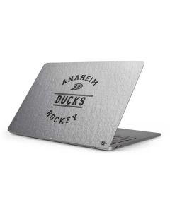 Anaheim Ducks Black Text Apple MacBook Pro 16-inch Skin