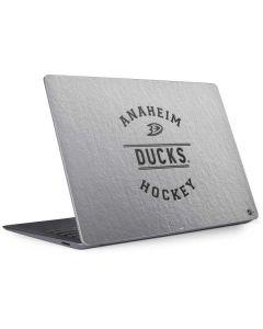 Anaheim Ducks Black Text Surface Laptop 3 13.5in Skin