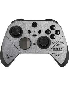 Anaheim Ducks Black Text Xbox Elite Wireless Controller Series 2 Skin