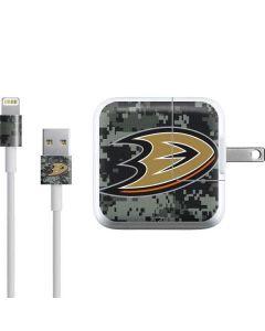 Anaheim Ducks Camo iPad Charger (10W USB) Skin