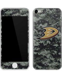 Anaheim Ducks Camo Apple iPod Skin