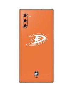 Anaheim Ducks Color Pop Galaxy Note 10 Skin