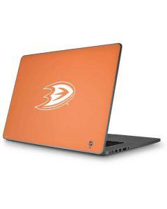 Anaheim Ducks Color Pop Apple MacBook Pro 17-inch Skin