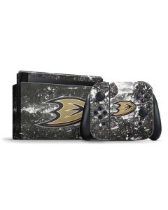 Anaheim Ducks Frozen Nintendo Switch Bundle Skin