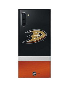 Anaheim Ducks Jersey Galaxy Note 10 Skin