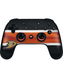 Anaheim Ducks Jersey Google Stadia Controller Skin