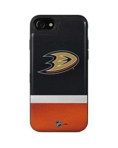 Anaheim Ducks Jersey iPhone SE Wallet Case