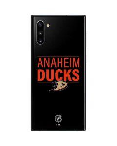 Anaheim Ducks Lineup Galaxy Note 10 Skin